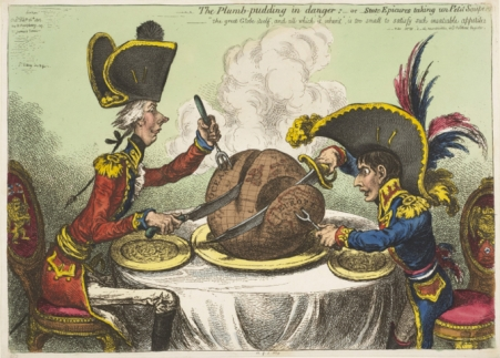 Napoleon caricature BM