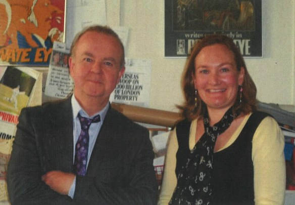 Mary L. Shannon and Ian Hislop Private Eye