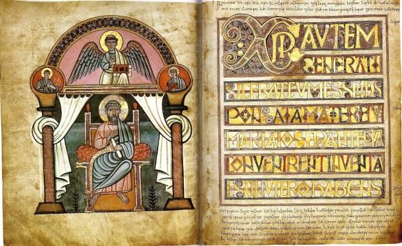 CodexAureusCanterburyFolios9v10r