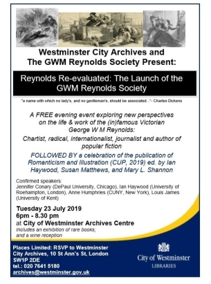 Reynolds Society Launch poster with RIN launch info